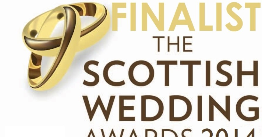 Scottish Wedding Awards 2014 Finalists Badge